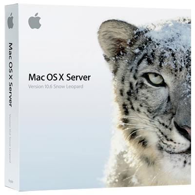 Apple Mac OS X Server 10.6 Snow Leopard